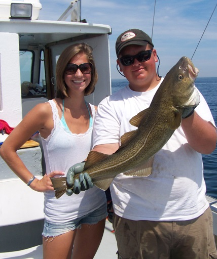 Cod Fishing, Cape Cod Fishing Charter, Massachusetts Bay